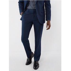 NWOT Express Producer 34/30 Navy Dress Pants